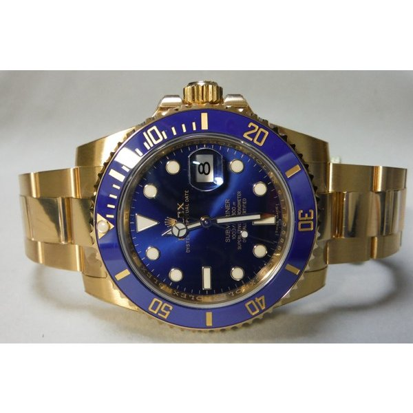 buy online 851d9 ec3b4 ROLEX ロレックス Submariner Date サブマリーナデイト K18YG ...