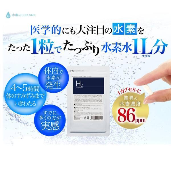 医療の現場から生まれた水素サプリメント H2supplement 60粒|suisocc
