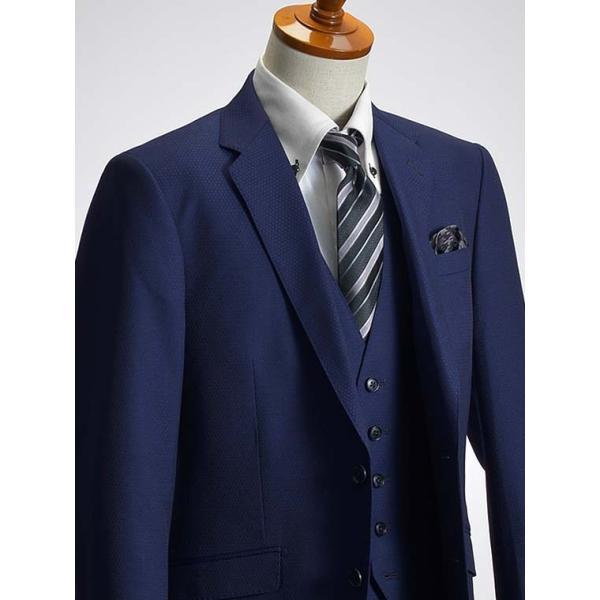 スリーピーススーツ メンズ ビジネススーツ 2ツボタン スリム 秋冬 洗えるパンツウォッシャブル suit|suit-style|12