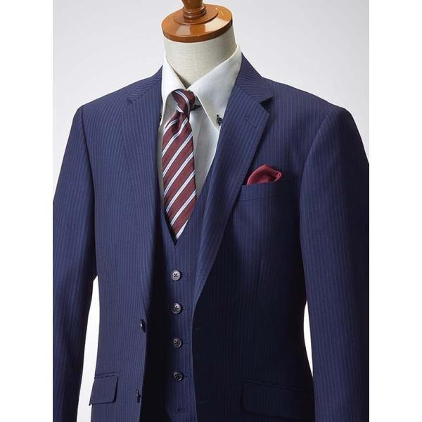 スリーピーススーツ メンズ ビジネススーツ 2ツボタン スリム 秋冬 洗えるパンツウォッシャブル suit|suit-style|14
