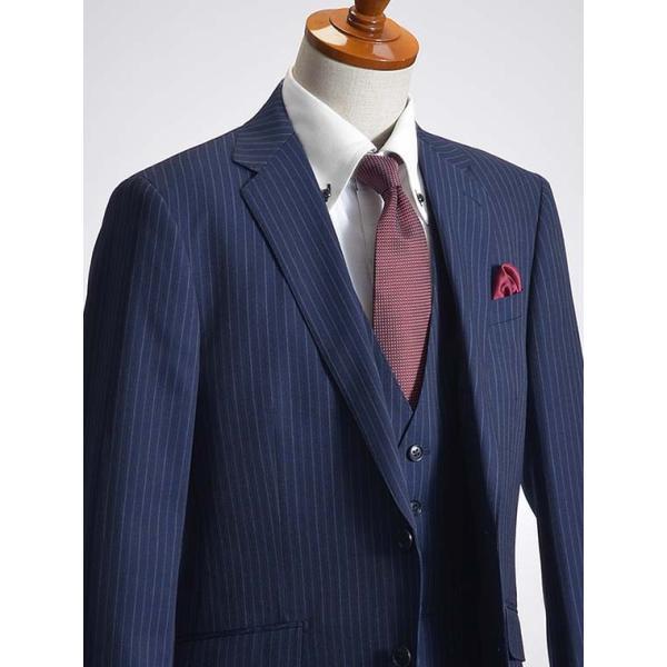 スリーピーススーツ メンズ ビジネススーツ 2ツボタン スリム 秋冬 洗えるパンツウォッシャブル suit|suit-style|20
