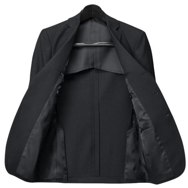 スリーピーススーツ ブリティッシュ 段返り3ツ釦 3ピース スーツ ビジネス 洗えるパンツ ウォッシャブル|suit-style|21