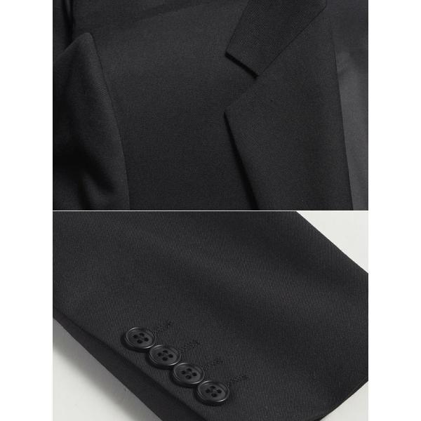 【セレモニースーツ】 ナローラペル2ツ釦セレモニースーツ (洗えるパンツウォッシャブル機能 スリム メンズ ビジネススーツ 冠婚葬祭 フォーマル【送料無料】|suit-style|11