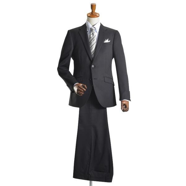 フォーマルスーツ メンズ 礼服 2つボタン スーツ セレモニー 洗えるパンツウォッシャブル スリム メンズ ビジネススーツ 冠婚葬祭 送料無料|suit-style|06