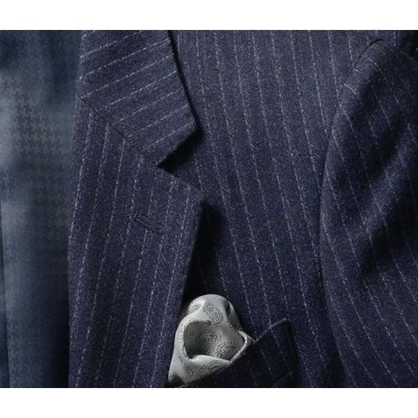 ビジネススーツ メンズ ウール100%サキソニー素材 2ツボタンスリーピーススーツ スリム 3ピース ベスト スーパーファインウール|suit-style|17