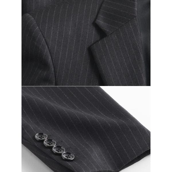 スーツ イタリア素材 ウール100% Lanificio ANGELICO 2ツボタンスーツ メンズ ビジネススーツ アンジェリコ|suit-style|12