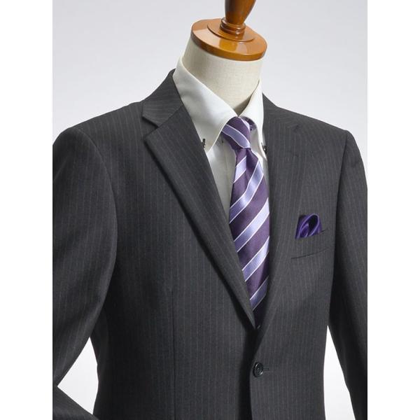 スーツ イタリア素材 ウール100% Lanificio ANGELICO 2ツボタンスーツ メンズ ビジネススーツ アンジェリコ|suit-style|13