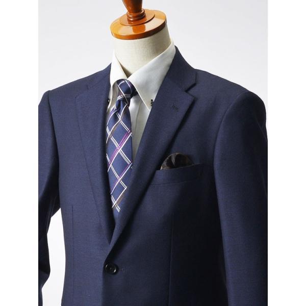 スーツ イタリア素材 ウール100% Lanificio ANGELICO 2ツボタンスーツ メンズ ビジネススーツ アンジェリコ|suit-style|17