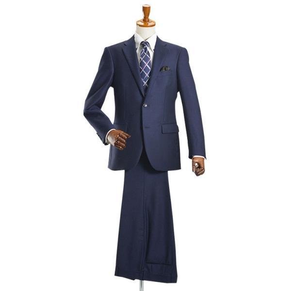 スーツ イタリア素材 ウール100% Lanificio ANGELICO 2ツボタンスーツ メンズ ビジネススーツ アンジェリコ|suit-style|18