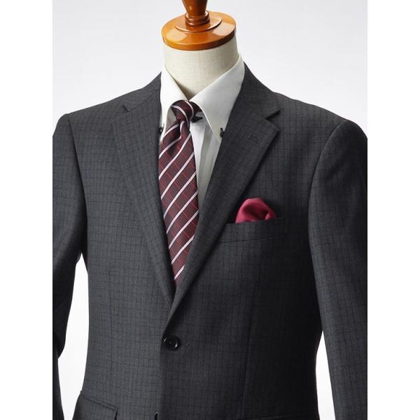 スーツ イタリア素材 ウール100% Lanificio ANGELICO 2ツボタンスーツ メンズ ビジネススーツ アンジェリコ|suit-style|21