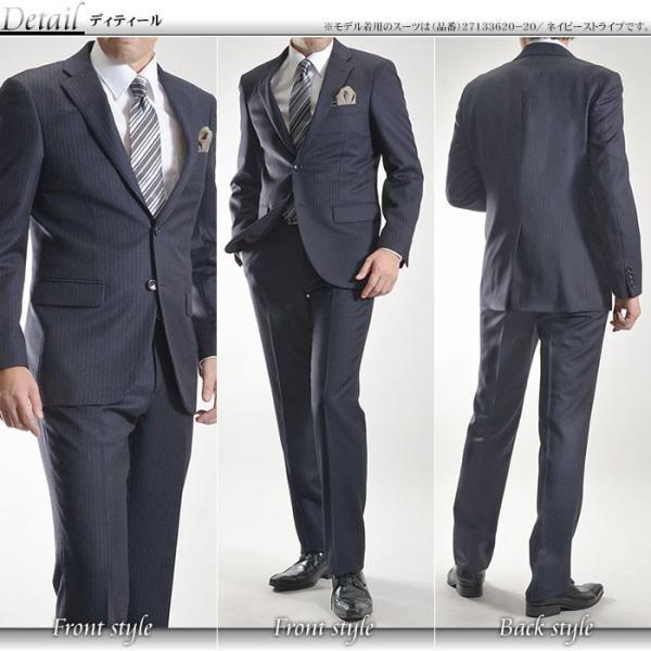 スーツ イタリア素材 ウール100% Lanificio ANGELICO 2ツボタンスーツ メンズ ビジネススーツ アンジェリコ|suit-style|04