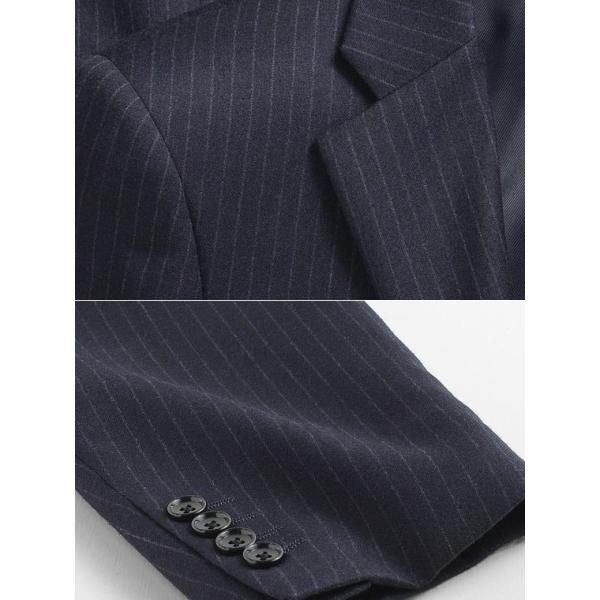 スーツ イタリア素材 ウール100% Lanificio ANGELICO 2ツボタンスーツ メンズ ビジネススーツ アンジェリコ|suit-style|08