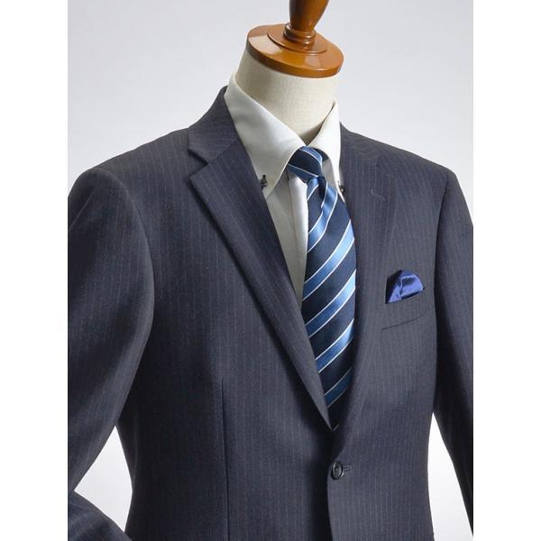 スーツ イタリア素材 ウール100% Lanificio ANGELICO 2ツボタンスーツ メンズ ビジネススーツ アンジェリコ|suit-style|09