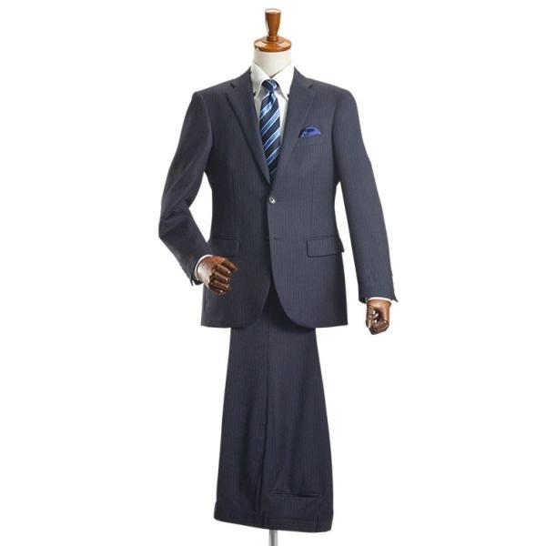 スーツ イタリア素材 ウール100% Lanificio ANGELICO 2ツボタンスーツ メンズ ビジネススーツ アンジェリコ|suit-style|10