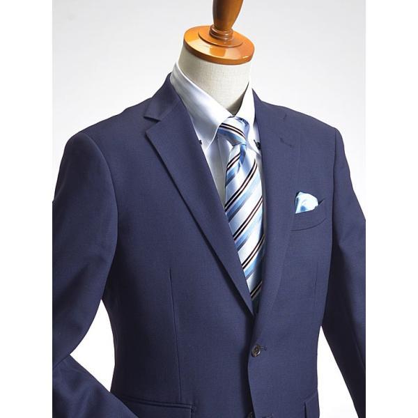 スリムスーツ メンズ ビジネス 2つボタン スリムフィット 新作 秋冬 洗えるパンツウォッシャブル 【送料無料 スーツハンガー付属】|suit-style|19