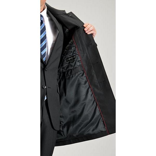 ビジネスコート ボンディング素材 シングルトレンチコート メンズ 撥水加工 スーツコート ブラック suit-style 15