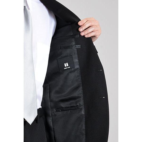 フォーマルスーツ 礼服 メンズ 2ツボタン 結婚式 アジャスター付 ブラック 黒 スリムスーツ ブラックフォーマル 激安 suit|suit-style|10