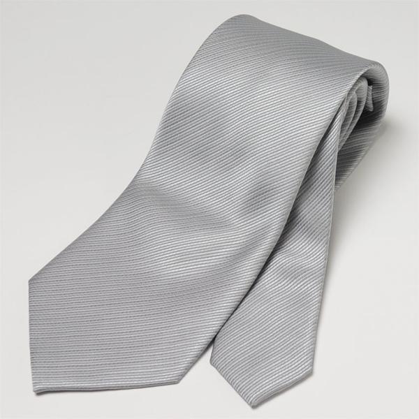 フォーマルネクタイ 8cm幅 礼装タイ セレモニー ホワイト シルバー ブラック 白 黒 冠婚葬祭 suit-style 06