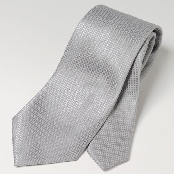 フォーマルネクタイ 8cm幅 礼装タイ セレモニー ホワイト シルバー ブラック 白 黒 冠婚葬祭 suit-style 08