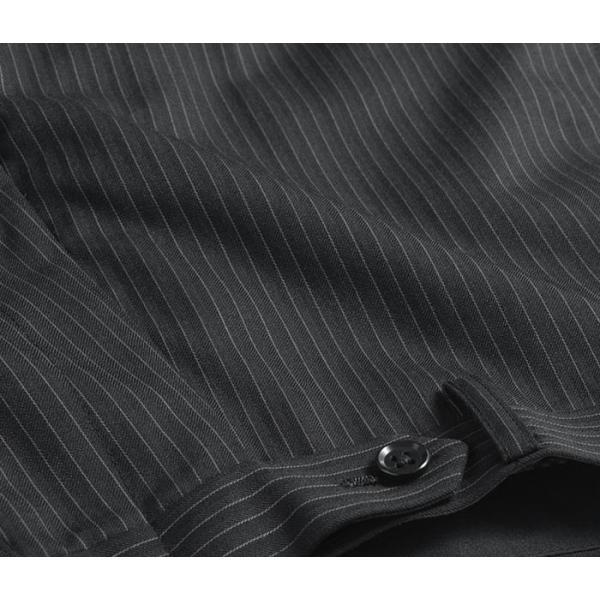 ブーツカット スラックス メンズ ビジネス ノータック パンツ スリム ウォッシャブル 細身 送料無料 suit-style 12