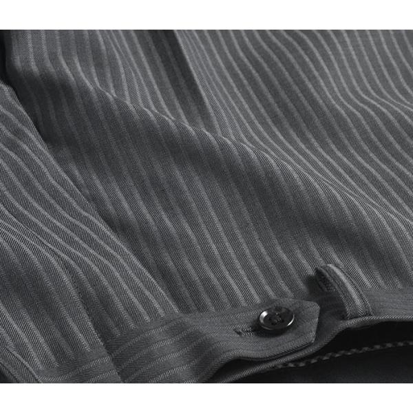 ブーツカット スラックス メンズ ビジネス ノータック パンツ スリム ウォッシャブル 細身 送料無料 suit-style 14