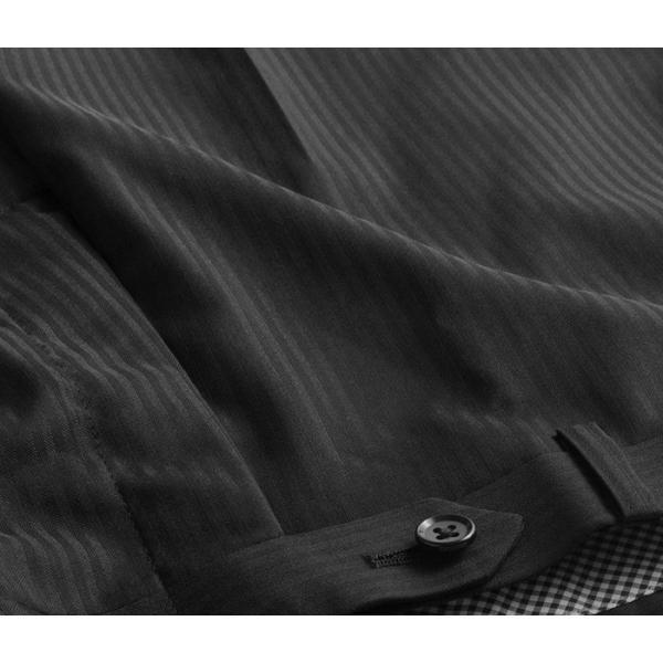 ブーツカット スラックス メンズ ビジネス ノータック パンツ スリム ウォッシャブル 細身 送料無料 suit-style 16