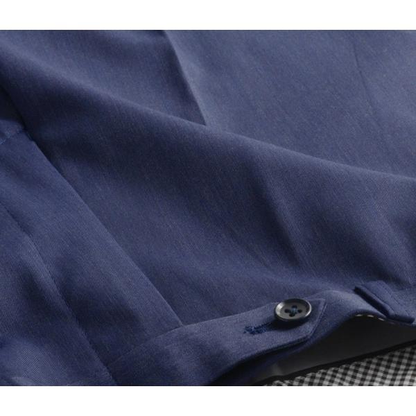 ブーツカット スラックス メンズ ビジネス ノータック パンツ スリム ウォッシャブル 細身 送料無料 suit-style 18