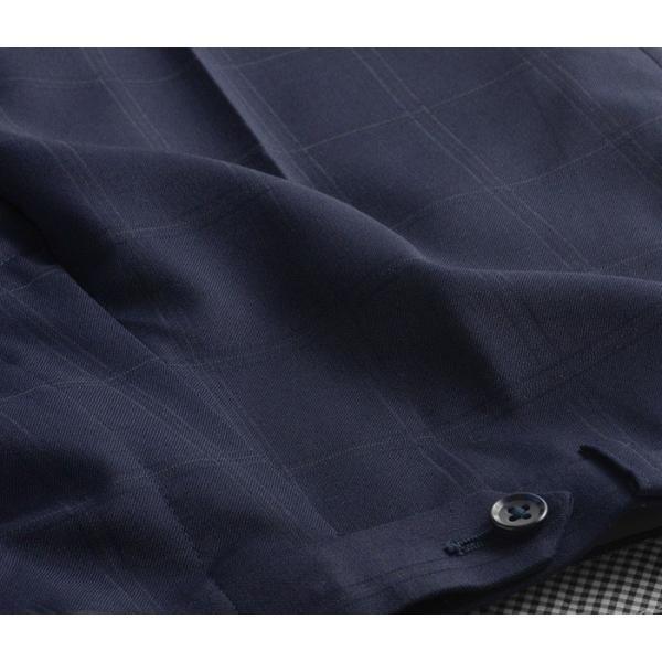 ブーツカット スラックス メンズ ビジネス ノータック パンツ スリム ウォッシャブル 細身 送料無料 suit-style 19