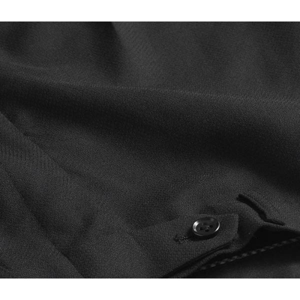 ブーツカット スラックス メンズ ビジネス ノータック パンツ スリム ウォッシャブル 細身 送料無料 suit-style 10