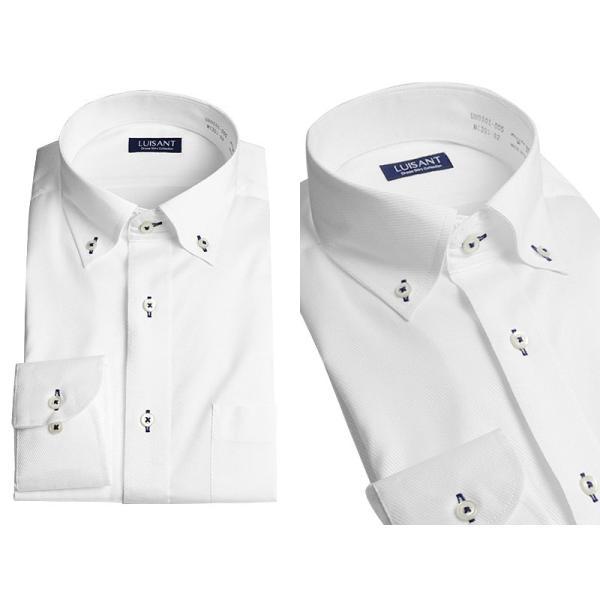 Yシャツ ビジネス 形状記憶 しわになりにくい 形態安定 ワイシャツ 長袖 メンズ 白シャツ|suit-style|11