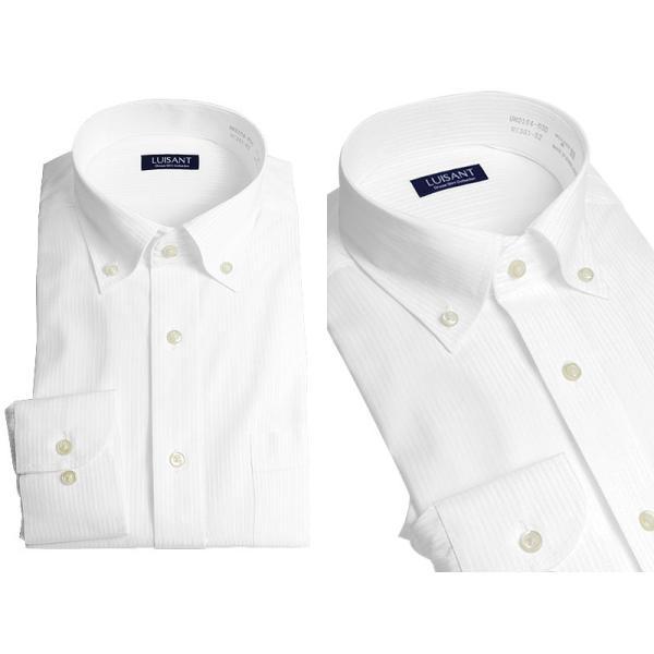 Yシャツ ビジネス 形状記憶 しわになりにくい 形態安定 ワイシャツ 長袖 メンズ 白シャツ|suit-style|19