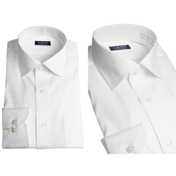 Yシャツ ビジネス 形状記憶 しわになりにくい 形態安定 ワイシャツ 長袖 メンズ 白シャツ|suit-style|09
