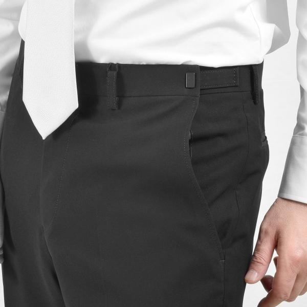 サマーフォーマルスーツ 礼服 ブラックスーツ アジャスター付 メンズ シングル 2ツボタン 喪服 結婚式 上下洗える 激安 夏物 送料無料|suitbeat|10