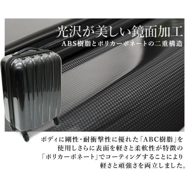 スーツケース HZ-200 SSサイズ 機内持ち込み可 小型 超軽量 キャリーケース キャリーバッグ ハードケース ファスナー TSAロック【アウトレット】|suitcasekoubou|02