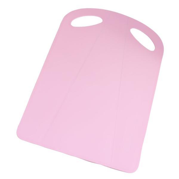 トンボ 折れる まな板 37×24.5×0.2厚cm ピンク|suityuugekka