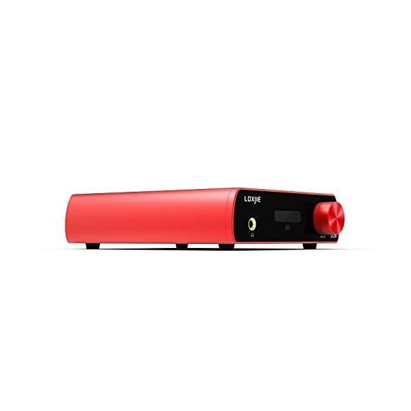 LOXJIE D20 DAコンバーター & ヘッドホンアンプ 一体型 ハイレゾ対応/高性能 DAC IC「AK4497」搭載 光 同軸 OT