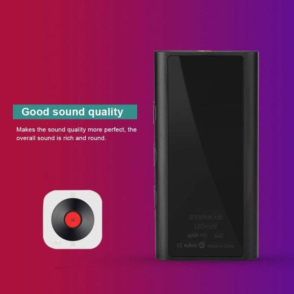 Fosa Bluetooth 5.0ヘッドフォンアンプ 新しいポータブルブルートゥース 5.0ヘッドフォンアンプ CSR8675 24bit
