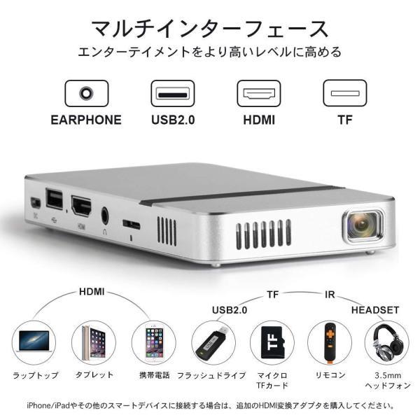 iCODIS G2 ミニ プロジェクター 小型 DLP 150ANSI(1200 ISO 21118)ルーメン 1080PフルHD対応 85|suityuugekka|02