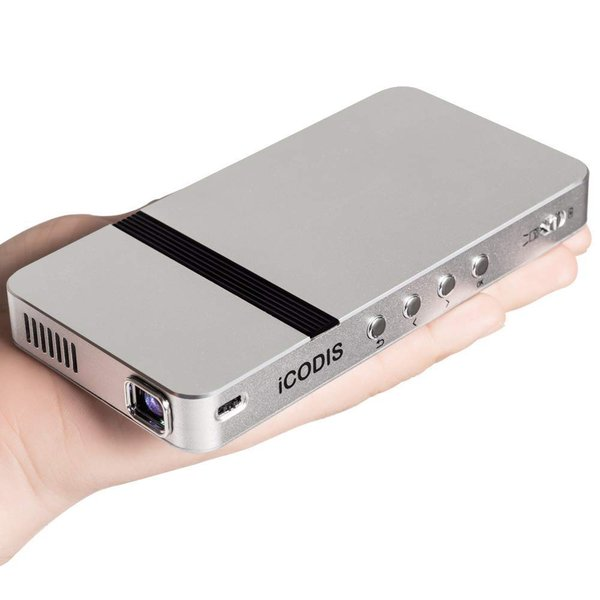 iCODIS G2 ミニ プロジェクター 小型 DLP 150ANSI(1200 ISO 21118)ルーメン 1080PフルHD対応 85|suityuugekka|06