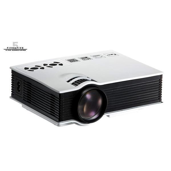高性能 / 多機能 コンパクト 最大投射130インチ対応 HDMI LED プロジェクター FF-5560 パソコン PC / DVD /