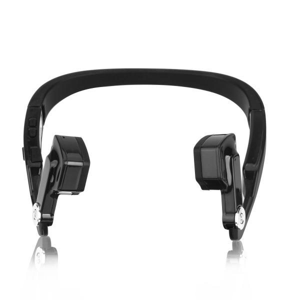 Sumeber 骨伝導 ヘッドホン bluetooth 折り畳み式 ハンズフリー ヘッドセット 高品質ステレオ ワイヤレス スポーツイヤホン