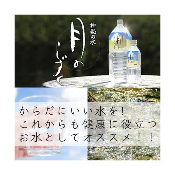 【ミネラルウォーター 500ml 送料無料】 月のしずく 500ml 24本セット sukoeco 04