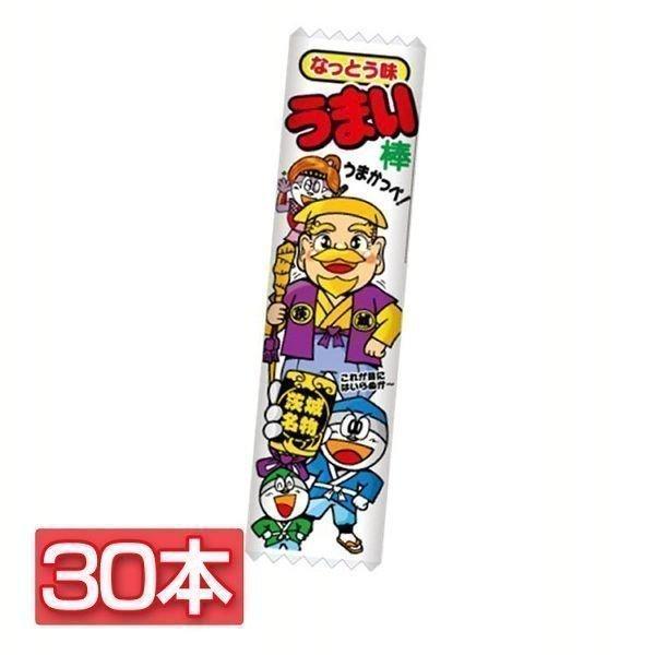 (30本)やおきん うまい棒なっとう味 やおきん (D)