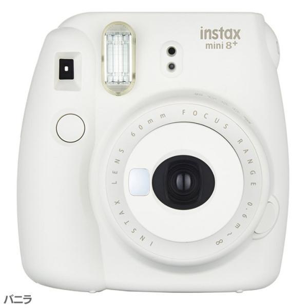 カメラ チェキ 本体 かわいい おしゃれ インスタントカメラ instax mini 8+ フジフィルム プレゼント クリスマス 女の子 (D)