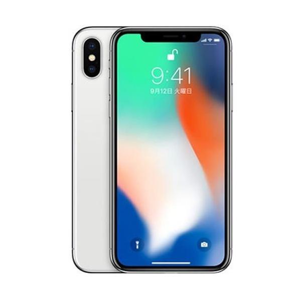 iPhone X 64GB SILVER A1902 MQAY2J/A SIMロック解除済 SIMフリースマホ本体 新品未使用 白ロム Apple sumahoselect