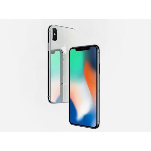 iPhone X 64GB SILVER A1902 MQAY2J/A SIMロック解除済 SIMフリースマホ本体 新品未使用 白ロム Apple sumahoselect 02
