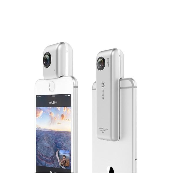 Insta360 Nano 360° VR 全天球カメラ 3K 超広角魚眼レンズ iphone7 7 plus iphone6/6s 6 plus/6s plus 送料無料|sumahoselect|04