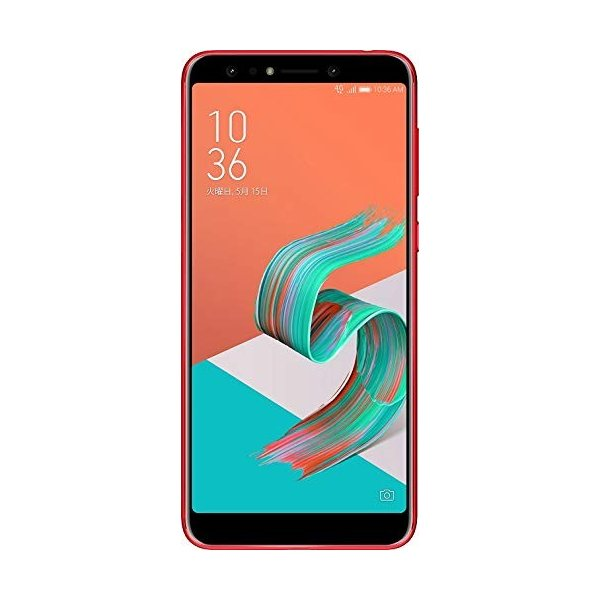 ASUS エイスース ZenFone 5Q ルージュレッド Android 7.1.1・ディスプレイ 6型ワイド ・メモリ/ストレージ:4GB/64GB [ZC600KL-RD64S4] ZC600KL-RD64S4|sumahoselect|02