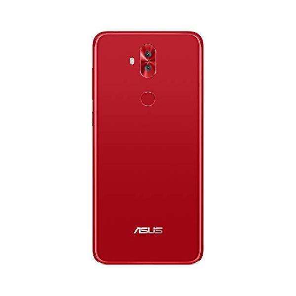 ASUS エイスース ZenFone 5Q ルージュレッド Android 7.1.1・ディスプレイ 6型ワイド ・メモリ/ストレージ:4GB/64GB [ZC600KL-RD64S4] ZC600KL-RD64S4|sumahoselect|03