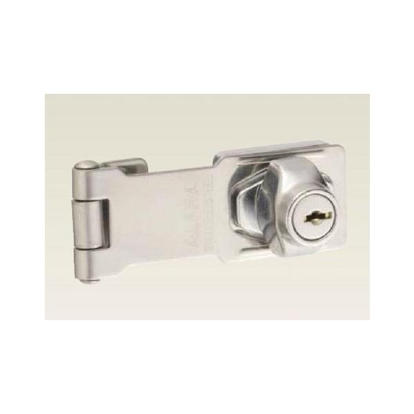 アルファ 掛け金錠 #2550-95mm  シルバー 鍵違い品